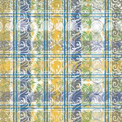 Colorful patterned frame