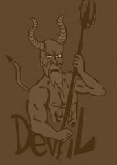 Vintage devil