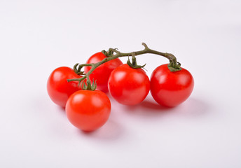 Cherry Tomatoes with Branch
