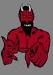 canvas print picture - Devil wants you