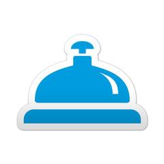 Pegatina simbolo timbre de hotel