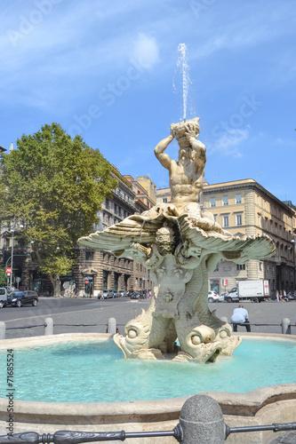 Foto op Aluminium Fontaine Fontana del tritone