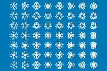 Vektör Kar Tanesi Christmas Background