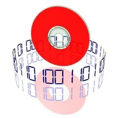 CD oder DVD - Daten speichern oder laden