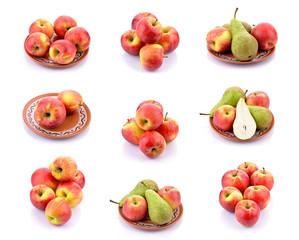 Jabłka z gruszkami