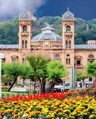 City Hall in San Sebastian (Donostia), Spain.