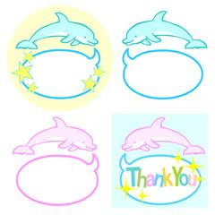 イルカ ふきだし1