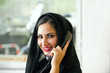 Arabian Customer service representative