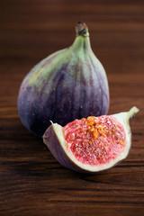 ripe figs close-up