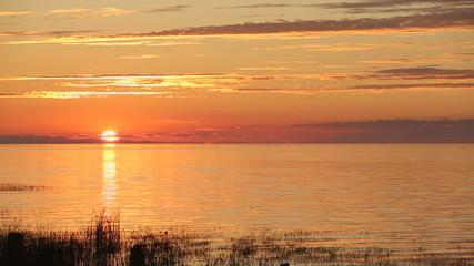 Georgia Strait Sunset