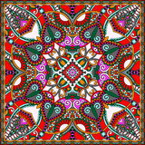 Fotoroleta Traditional ornamental floral paisley bandanna. You can use this