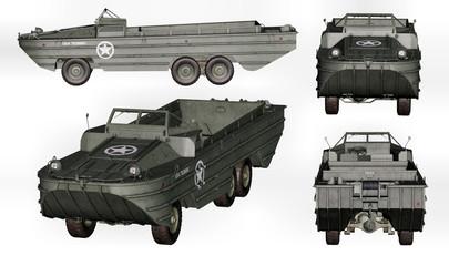 camion amphibie