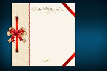 Weihnachtskarte Menue © Matthias Buehner