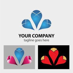 Business Corporate Abstract infinity vector logo design