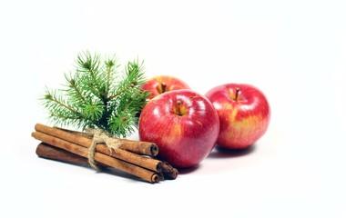 Weihnachtszeit,Äpfel