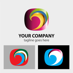 Color Swirl logo