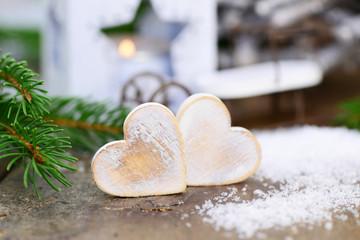 Zwei Herzen, Laterne