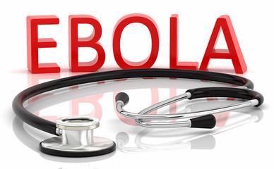 Ebola y estetoscopio