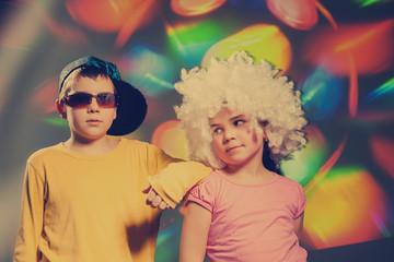 Vintage disco children