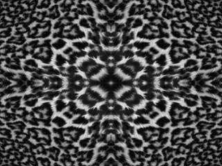 Kaleidoscope Leopard Fur Pattern