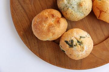 手作り丸パン