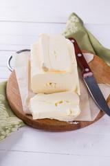 Fresh organic butter