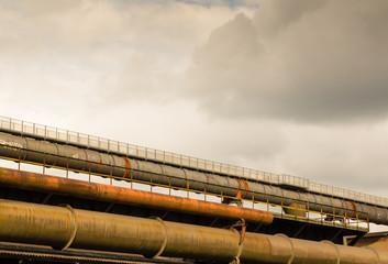 Stahlrohre Industrie Kultur