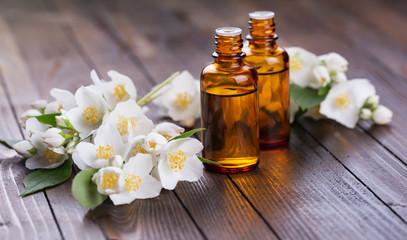 Essential aroma oil with jasmine