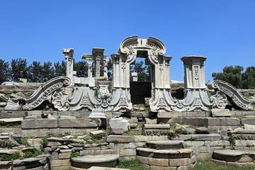 Die Französischen Ruinen in Peking