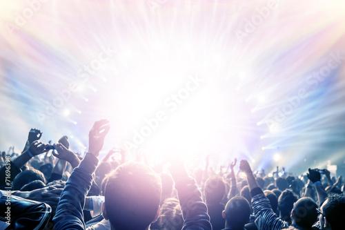 Leinwanddruck Bild Concert