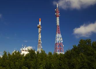Antenna towers