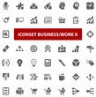 Top Iconset - Business Work II