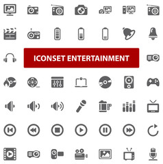 Top Iconset - Entertainment