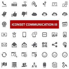 Top Iconset - Communication III