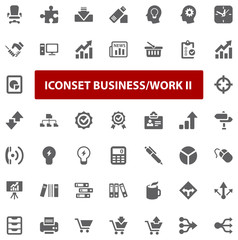 Top Iconset - Business Work II