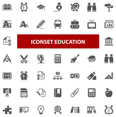 Top Iconset - Education