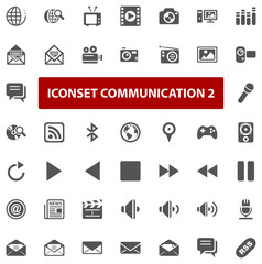 Top Iconset - Communication II