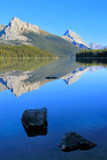 Fototapety Maligne lake in Jasper national park, Alberta, Canada