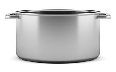 cooking pan isolated on white background