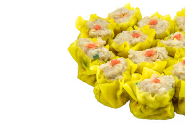 DimSum Chinese Appetizer Type of Chinese Steamed Dumpling side i