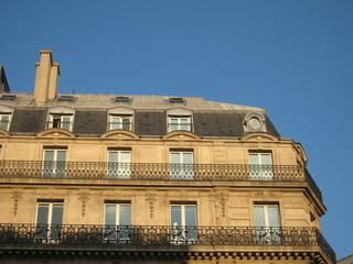 Immobilier Paris - Immeuble bourgeois typique