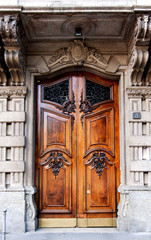 Door,Milan, Italy