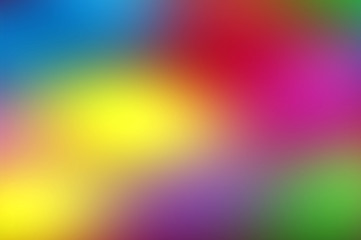 Abstract Blurred Colors Mix Background 4