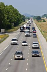 Heavy Summertime Highway Traffic