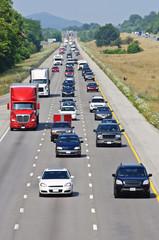 Heavy Summer Vacation Traffic