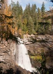 Canim Lake Water Falls