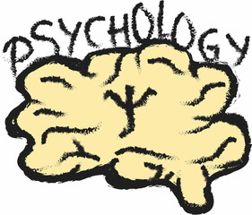 doodle symbol of psychology