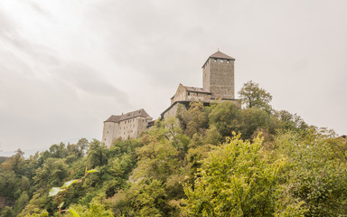 Südtirol, Schloss Tirol, Dorf Tirol, Vinschgau, Meran, Italien