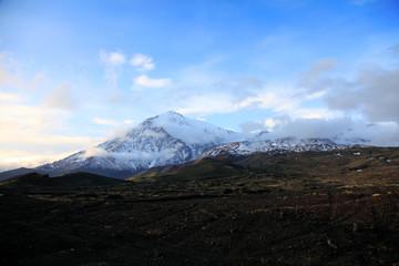 Ostriy Tolbachik volcano.