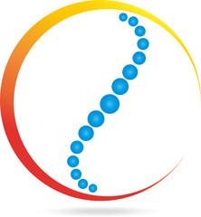 Logo, Wirbelsäule, Orthopädie, Physiotherapie